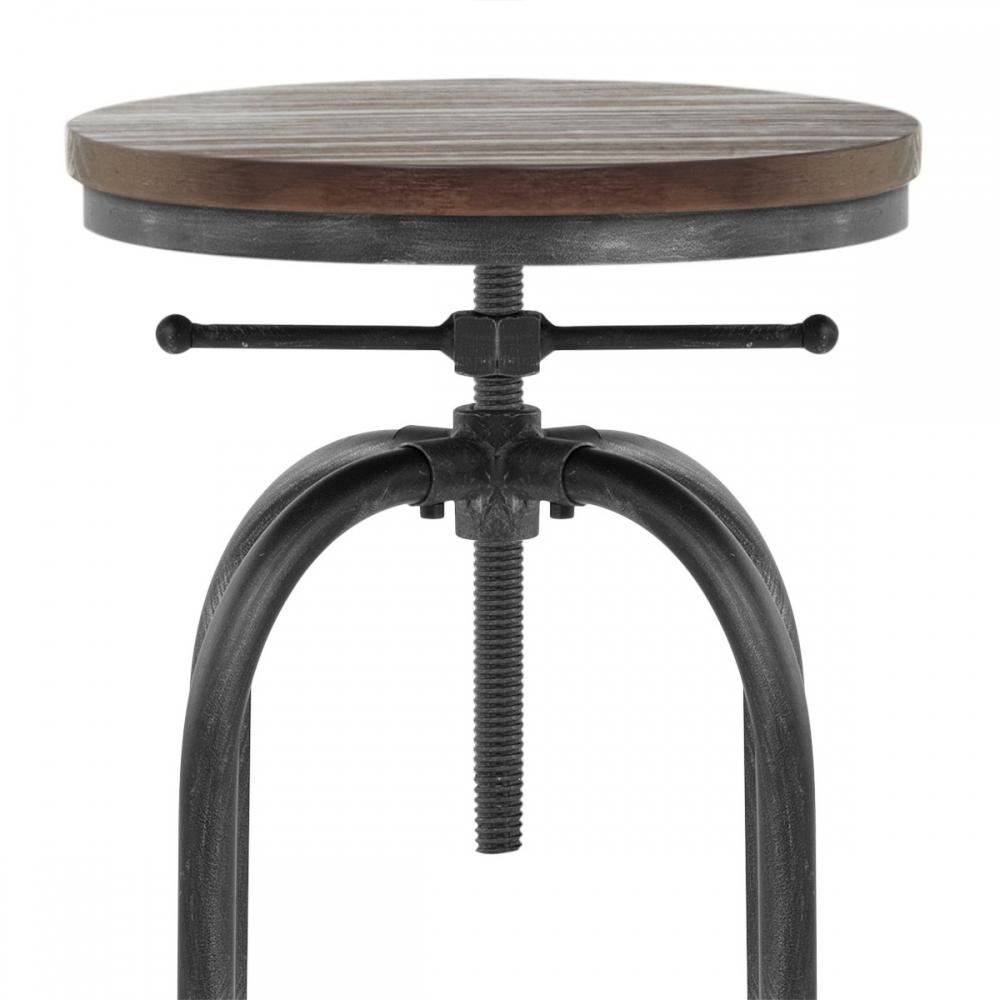 tabouret de bar m tal haut machinist antique monde du tabouret. Black Bedroom Furniture Sets. Home Design Ideas