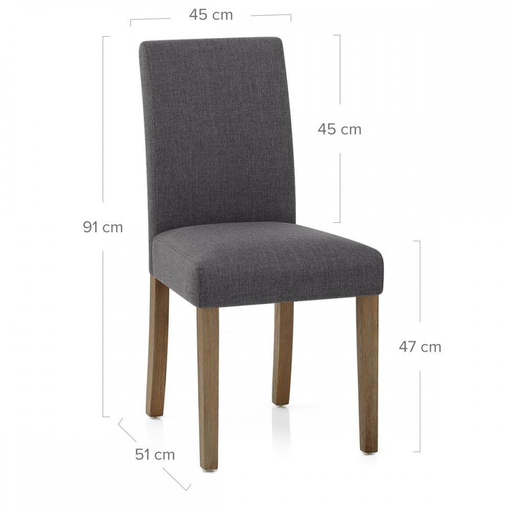 chaise bois tissu - chicago - monde du tabouret