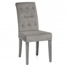 Chaise velours bois - Moreton