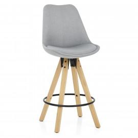 Chaise de Bar Bois Tissu - Aéro