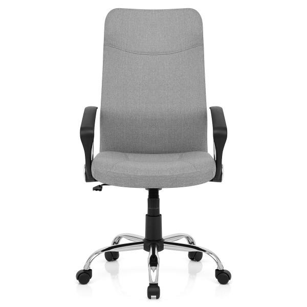 Chaise de Bureau Tissu - Kansas Gris