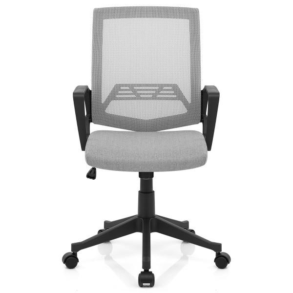 Chaise de Bureau Tissu - Tuscan Gris