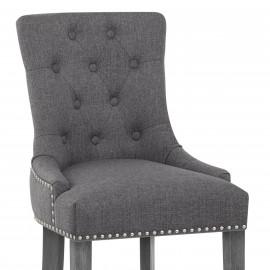 Chaise de Bar Tissu - Etienne