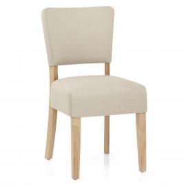 Chaise Chêne Tissu - Dorchester