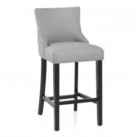 Chaise de Bar Bois Tissu - Bentley