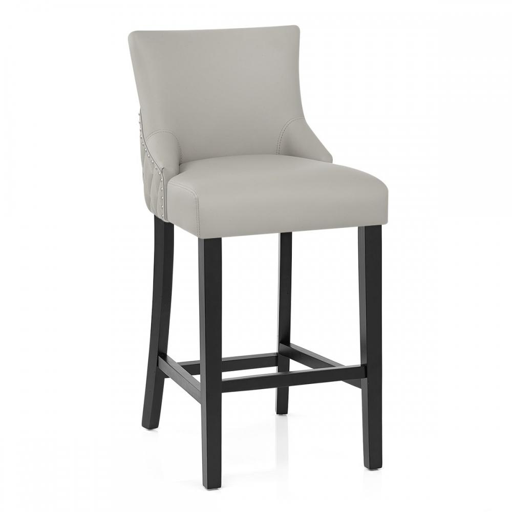 chaise de bar bois faux cuir bentley monde du tabouret. Black Bedroom Furniture Sets. Home Design Ideas