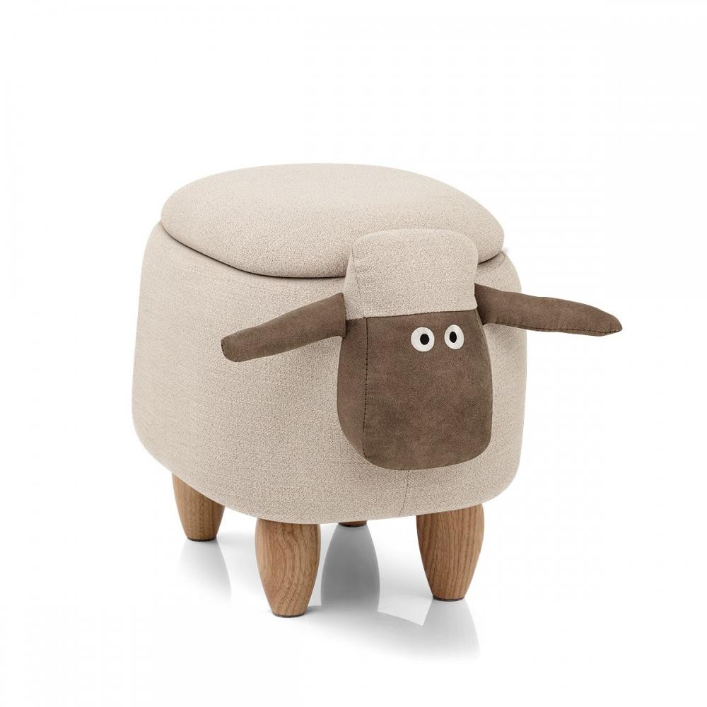 tabouret de rangement enfant sheep monde du tabouret