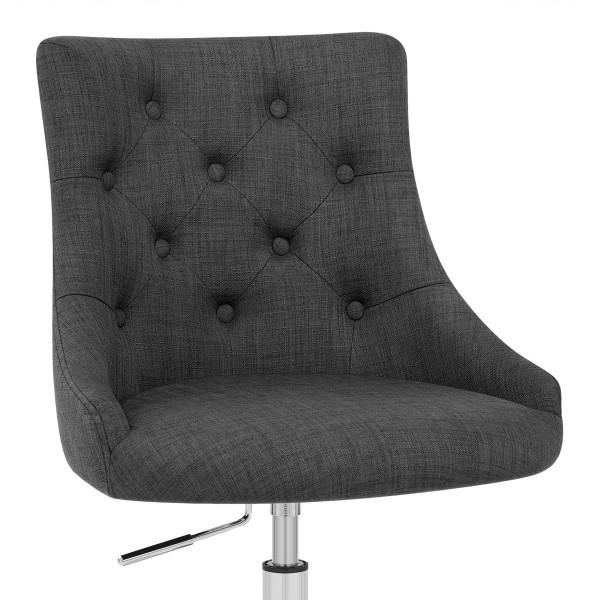Chaise de Bureau Tissu - Sofia Gris