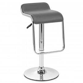 Chaise de Bar Faux Cuir Chrome - Niagara
