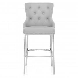 Chaise de Bar Métal Faux Cuir - Grange