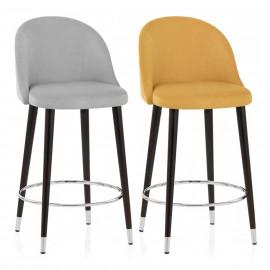 Chaise de Bar Bois Tissu - Polo