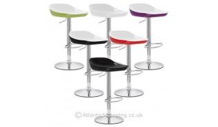 Gamme de chaises de bar en acrylique ou abs ameublement for Chaise en acrylique